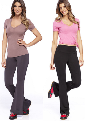 yoga pants and tops - Pi Pants