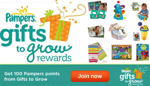 Pampers Gifts to Grow Free Codes