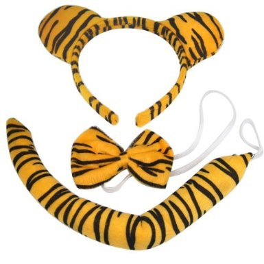 Tiger Halloween Costume Accessories 3-piece Set Only $2.59 SHIPPED!