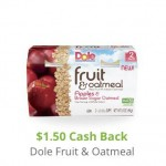 Commissary Dole Fruit & Oatmeal Packs Coupon Deal!