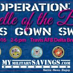 Military Belle of the Ball Gown Swap hosted by MyMilitarySavings.com