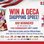 Patriot Perks Giveaways for Military and Families