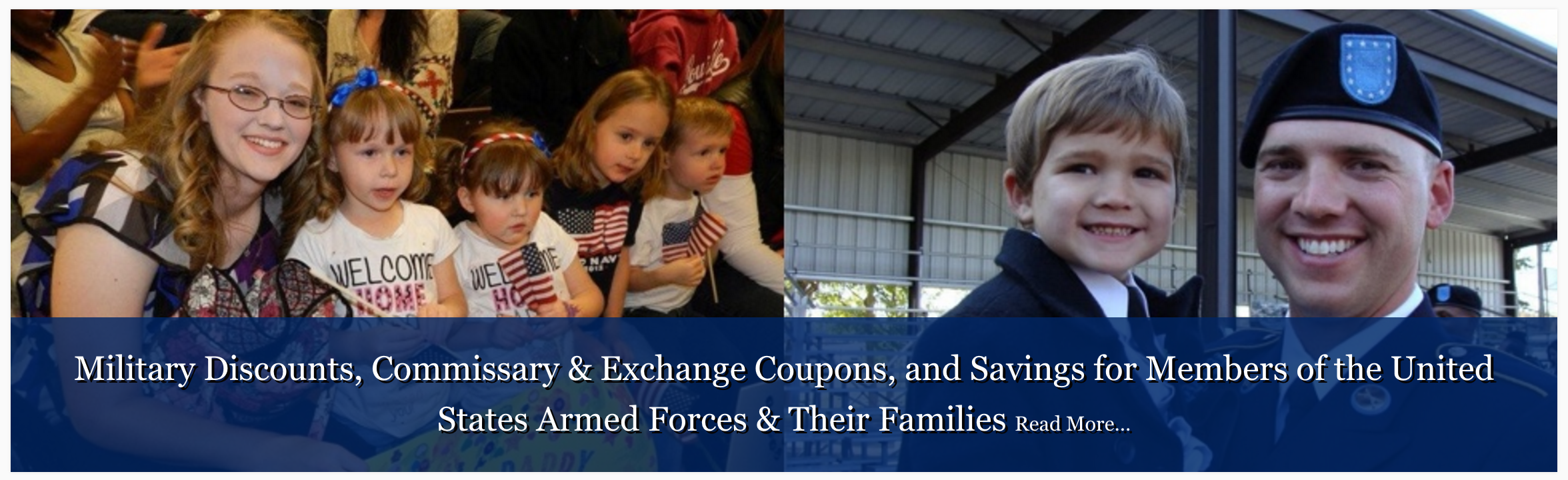 Military exchange coupons