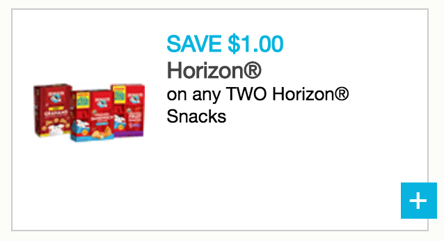 horizon fruit snacks coupons