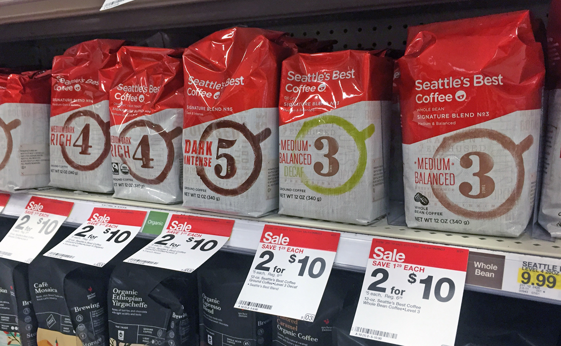 target deals seattle's best coffee coupons