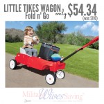 Little Tikes Fold 'n Go Wagon $57.34 + FREE Shipping (Reg. $110)