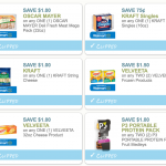 New Coupons for Kraft, Oscar Mayer, Velveeta, Capri Sun & More