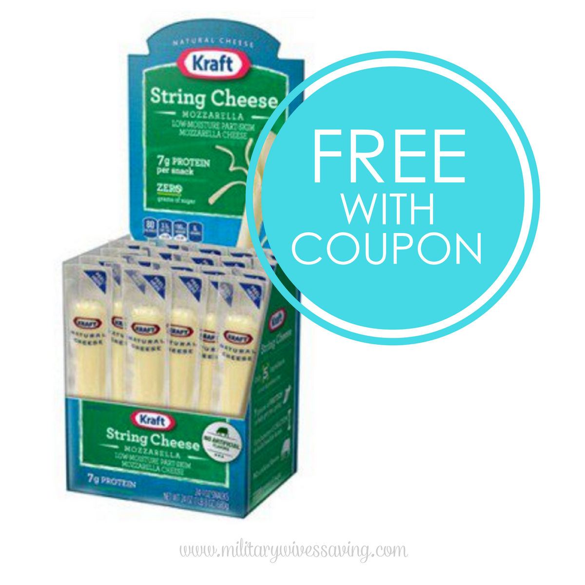 New Kraft Cheese Coupon: FREE at Commissary, Walmart