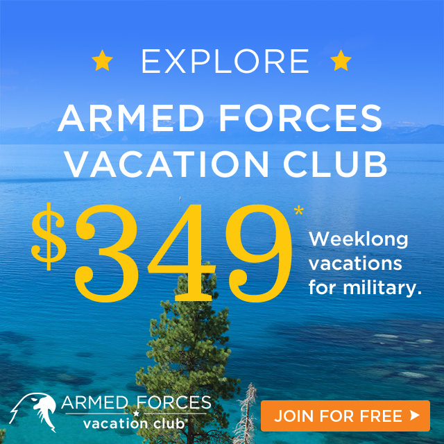 AFVC offers weeklong resort stays in destinations worldwide from $349. Join today – membership is free!