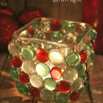 Rainbow Rays Christmas Candle Prism Light Craft