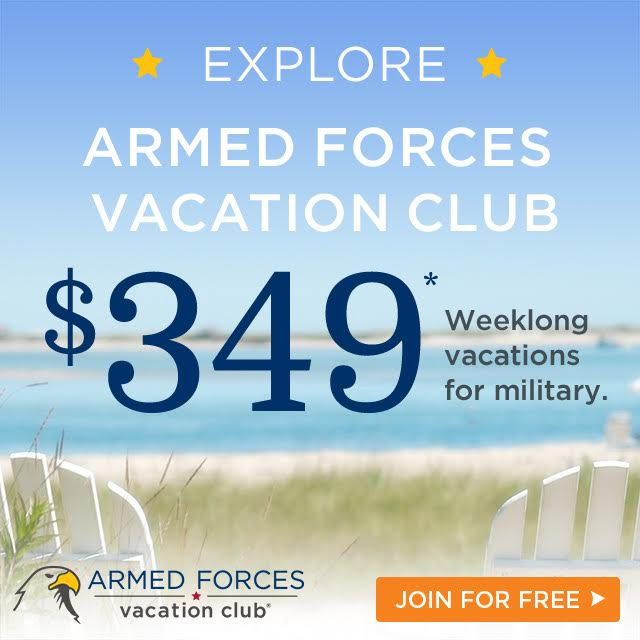 Armed Forces Vacation Club for Military Discount Vacations