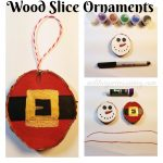 Cabin Fever Crafting (+ How to Make Wood Slice Ornaments)