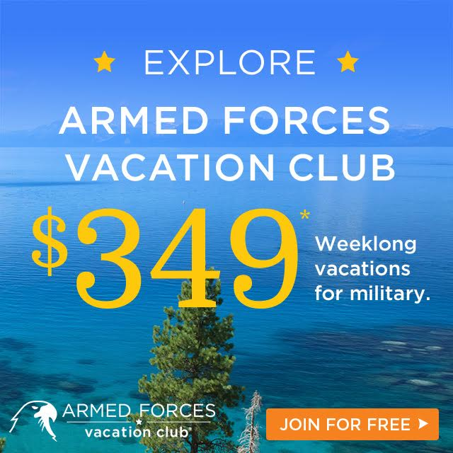 Military Vacation Club Discounts Deals