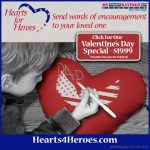 Special Valentine's Day Deal: Hearts For Heroes Customizable Pillows