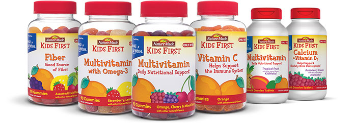 Nature Made Kids First Gummy Vitamins