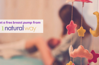 Get a FREE Breast Pump From 1 Natural Way