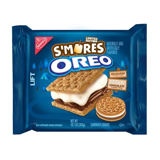 New OREO Cookie S'mores Flavors