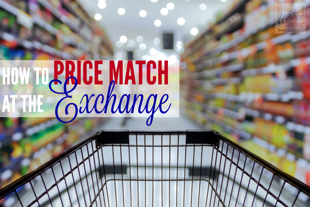 The Military Exchange (AAFES) Will Price Match (+ Coupon Policy)