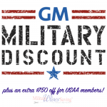 The GM Military Discount
