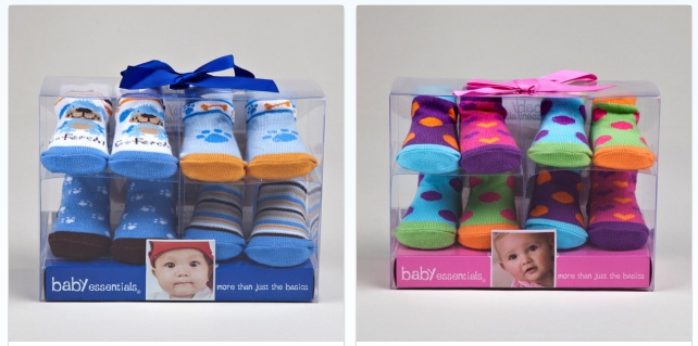 Get A 4 Pack Of Baby Essentials Socks Sets For Only 5 50 Free