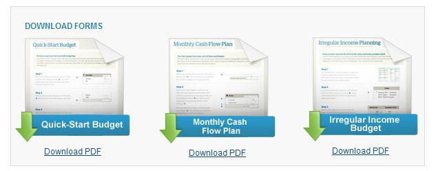 free dave ramsey downloadable budget forms