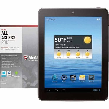 FREE Nextbook Tablet when you buy McAfee All Access Internet