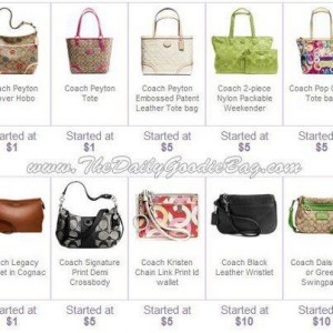 d8aaf20bf92b Coach Purses and Wallets as Low as  3 with FREE  10 Credit