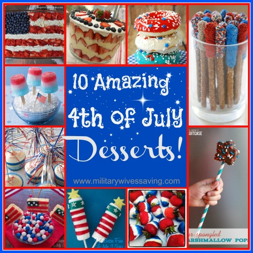 Amazing 4th of July Desserts