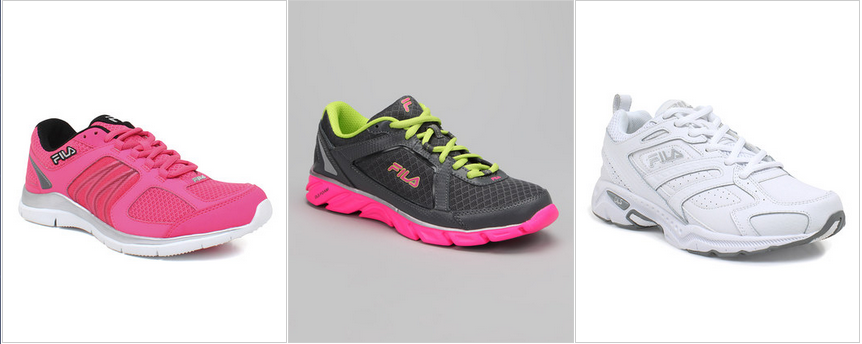 FILA Womens, Mens and Kids Running Shoes Up To 50% OFF Sale