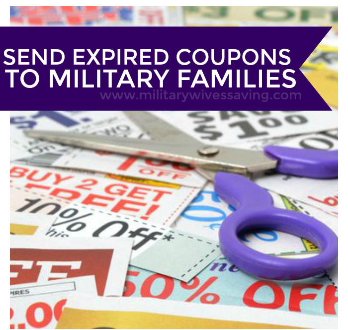 Send Expired Coupons to Military Families Overseas 1