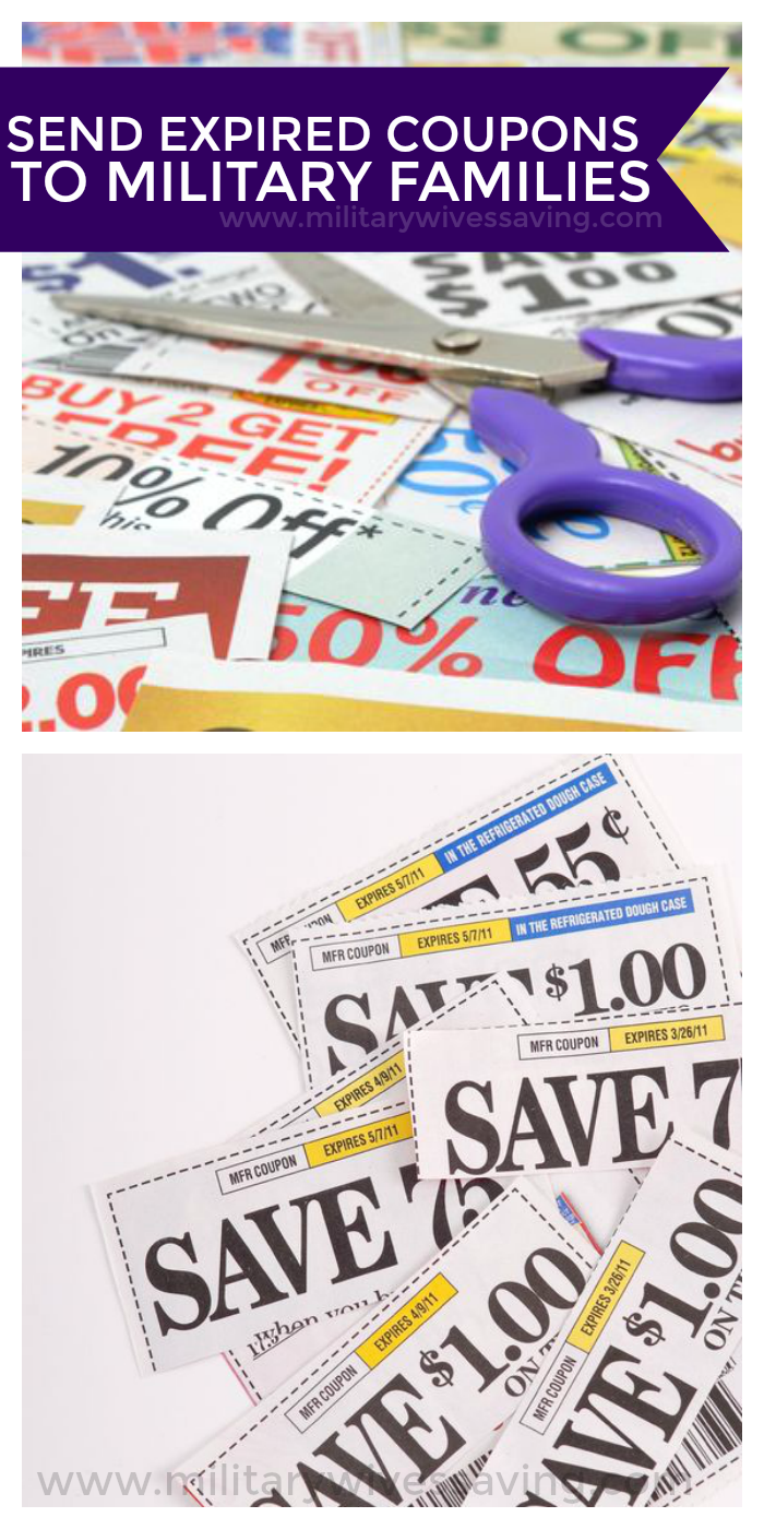 Send Expired Coupons to Military Families Overseas