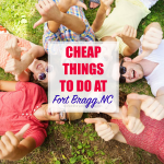 Cheap and Fun Things To Do in Fort Bragg, Fayetteville, NC