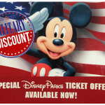 Walt Disney World and Disneyland Resort Military Discounts (Includes Park Hopper)