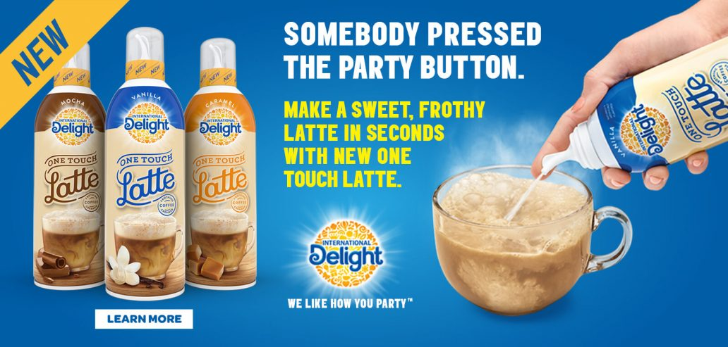 how to international delight one touch latte review