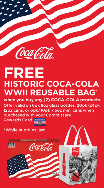 Celebrate the Defense Commissary Agency's 150th Anniversary with Coca-Cola