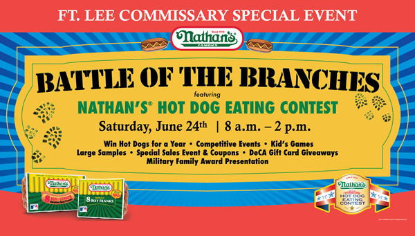 nathan's eckrich hot dog eating competition