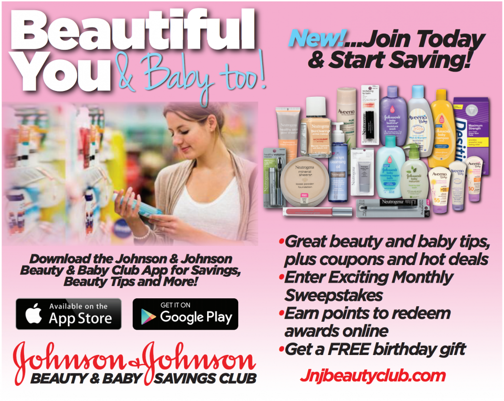 johnson & johnson beauty and baby club