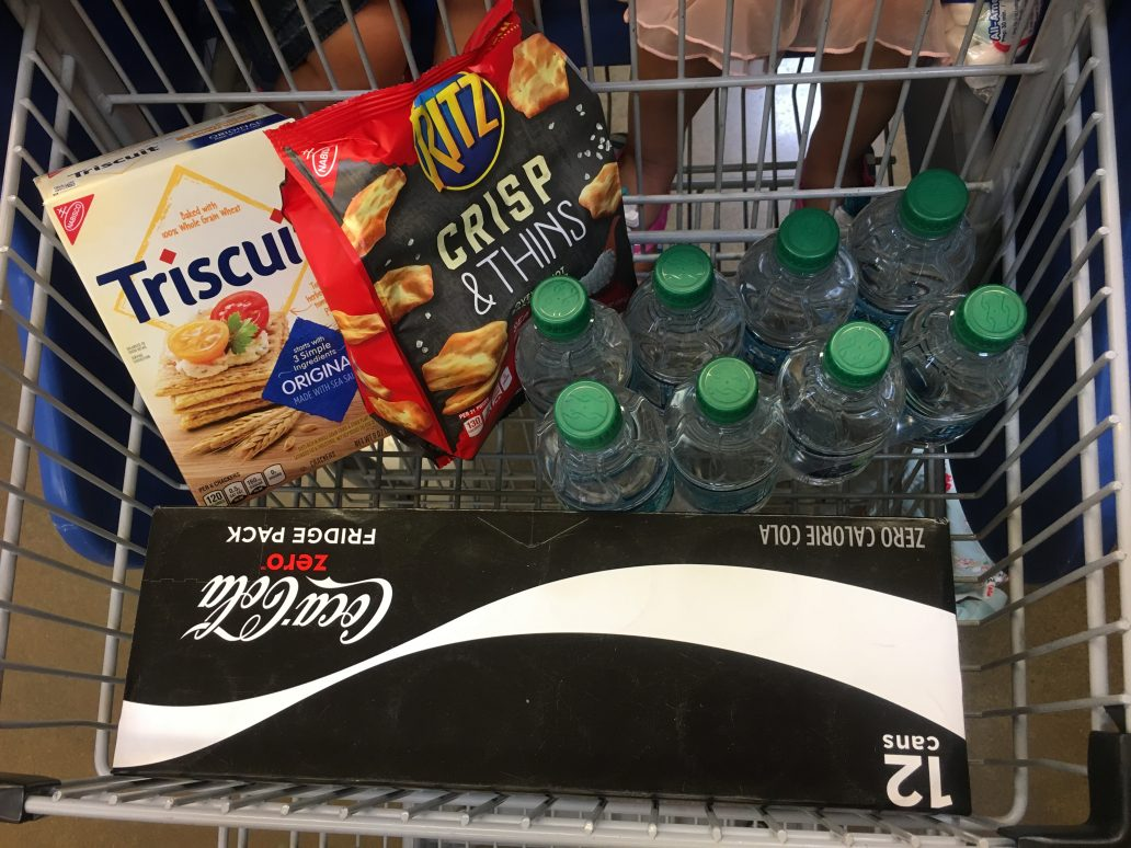 what's in my grocery cart