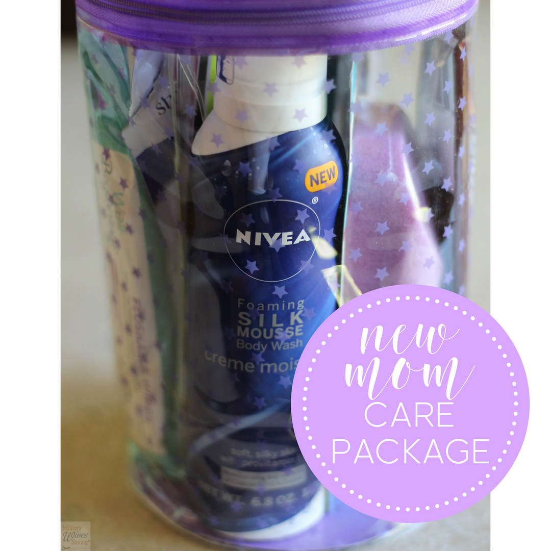 DIY new mom care package