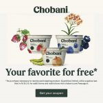 Celebrate with Chobani® & Get a FREE Yogurt!