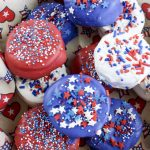 Patriotic Nutella RITZ S'mores