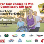 Enter the Family Fit Event Text to Win Sweepstakes at the Commissary!