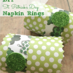 DIY St. Patrick's Day Crafts: Homemade Napkin Rings