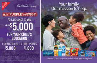 Enter The Month of the Military Child 2019 Sweepstakes