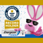 Energizer® Ultimate Lithium Batteries™ Guinness World Records Holder