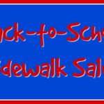 Back-to-School Sidewalk Sales at the Commissary